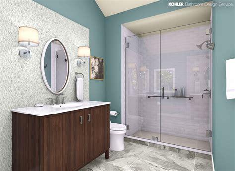 Kohler Bathroom Designs by Kohler Bathroom Design Service Personalized Bathroom Designs
