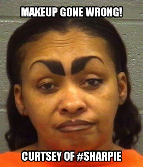 Bad Eyebrows Meme - 63 best images about there i fixed it diy gone wrong on pinterest crutches fasteners and