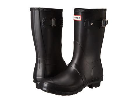 hunter original short rain boots  zapposcom