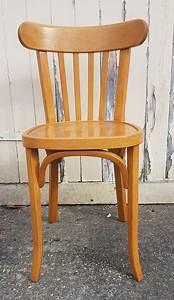 Chaise Bistrot Vintage : broc co chaises bistrot vintage en bois thonet baumann fischel style bistrot ~ Teatrodelosmanantiales.com Idées de Décoration
