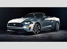 2018 Ford Mustang Convertible revealed photos CarAdvice