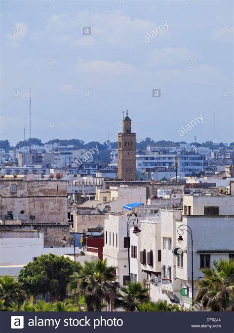 stadtbild der alten medina rabat hauptstadt
