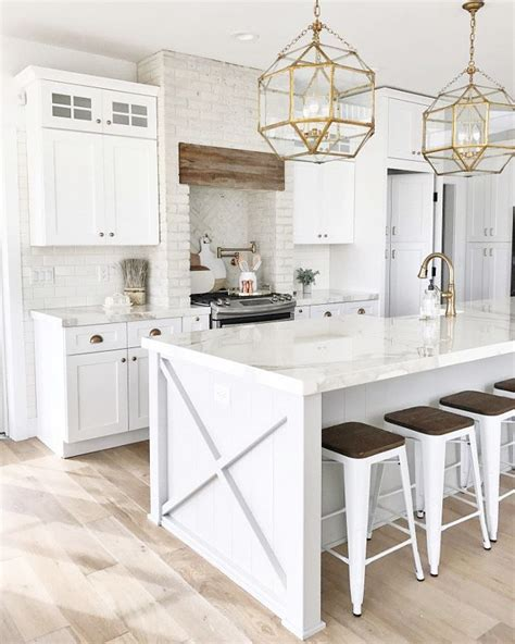 25 White And Wood Kitchen Ideas by Top 25 Best White Kitchens Ideas On White