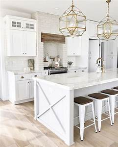 top 25 best white kitchens ideas on pinterest white With kitchen cabinet trends 2018 combined with eye black stickers