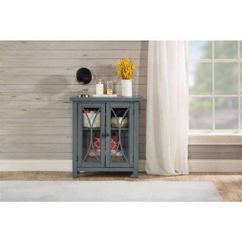 bayside cabinets hillsdale furniture bayside robin egg blue 2 door cabinet