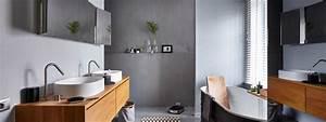 beton cire salle de bain sol douche design resistant a With beton lisse salle de bain