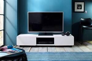 Tv Schrank Weiß Matt : tv lowboard rollen weiss g nstig kaufen bei yatego ~ Bigdaddyawards.com Haus und Dekorationen