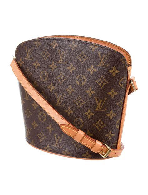 louis vuitton monogram drouot crossbody bag handbags