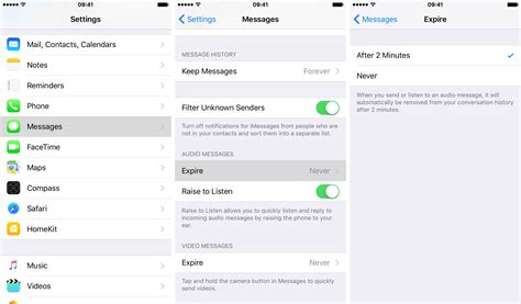 does iphone automatically forward how to set iphone to automatically delete audio messages