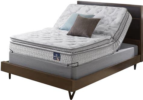 Size Mattress Set by Serta Extravagant Pillowtop Size Mattress Set With