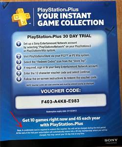 Playstation Plus Gratis Code Ohne Kreditkarte : fgd who wants a free ps 30 day trial voucher ~ A.2002-acura-tl-radio.info Haus und Dekorationen