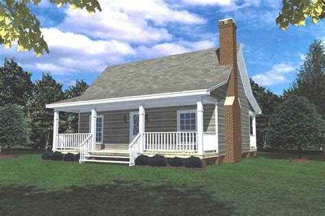 small vacation home house plan