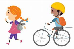 Bike clipart bike safety - Pencil and in color bike ...