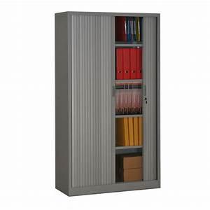 Armoire à Rideaux : armoire rideaux hauteur 180 armoire de bureau m tallique ~ Teatrodelosmanantiales.com Idées de Décoration