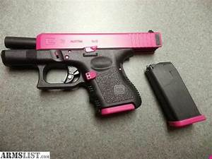 ARMSLIST - For Sale: glock 26 9mm 2 tone pink