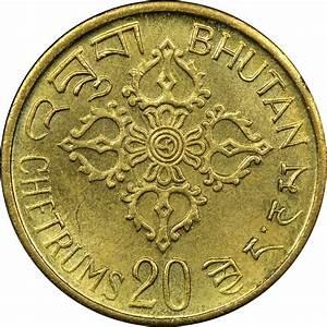 Bhutan 20 Chetrums Km 39 Prices  U0026 Values