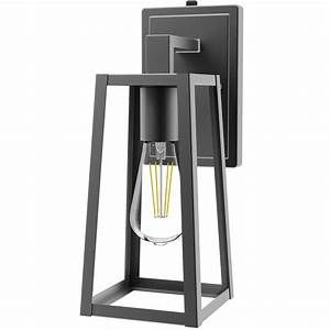 Avalon Caged Wall Sconce  St64 Filament Bulb Included