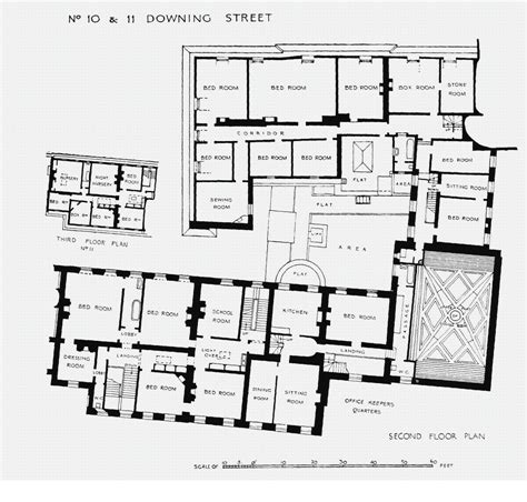 houses  state downing street floor plans london