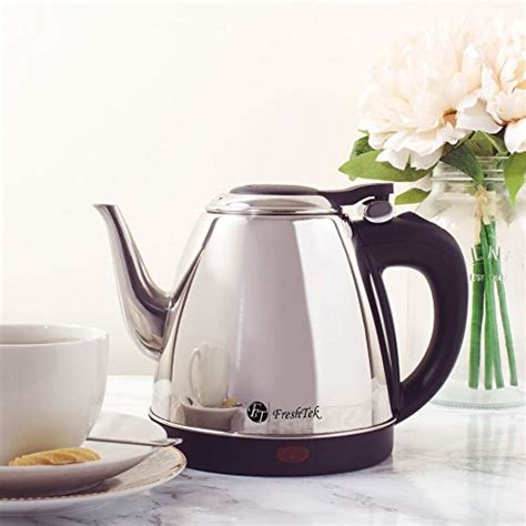 pot tea electric coffee kettle stainless steel cup pouring water french press
