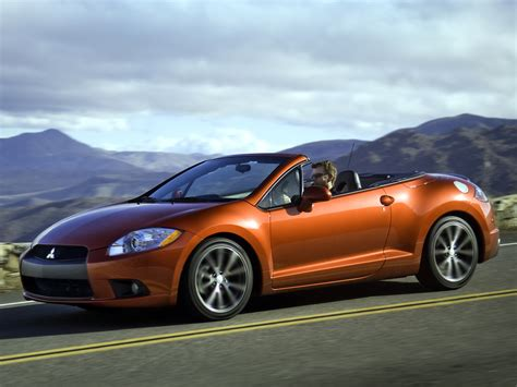 Mitsubishi Convertible by Eclipse Convertible 4th Generation Eclipse