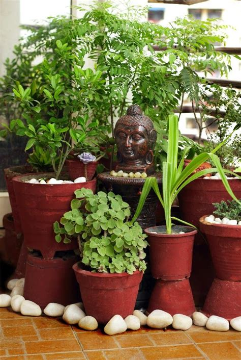 Garden Decoration India by Best Balcony Garden Ideas Pune On Home Design Make Easy