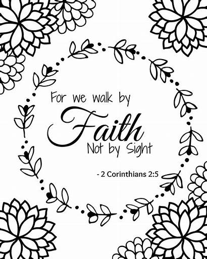 Bible Coloring Printable Verse Sheets Simple Hope