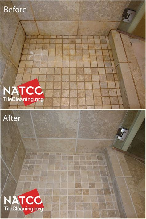 cleaning colorsealing regrouting  dirty shower