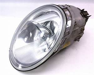 Rh Genuine Headlight Head Light Lamp 98-05 Vw New Beetle