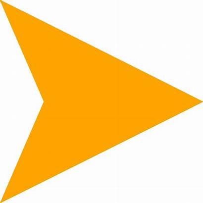 Arrow Animated Right Orange Andy Moore