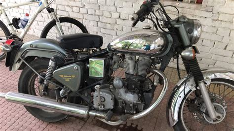 Used Royal Enfield Bullet 500 Bike In Gurgaon 2009 Model
