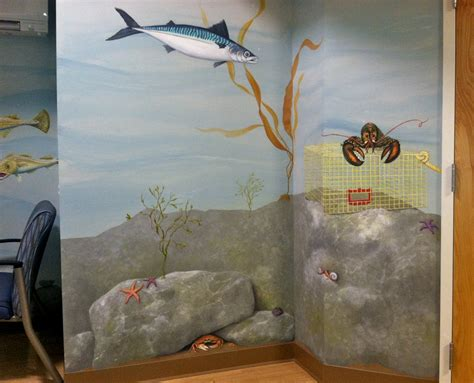Freeport Maine Medical Centers Childrens Wall Mural