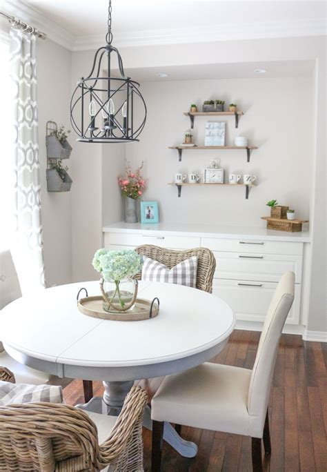 Modern Farmhouse Dining Room Table Diy  1111 Light Lane