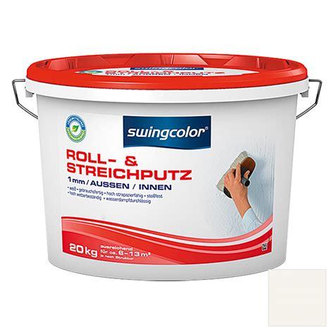 roll und streichputz swingcolor roll und streichputz 1 mm 20 kg wei 223 bauhaus