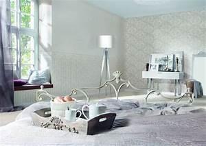 Tapeten Muster Wände : tapete mit muster planungswelten ~ Markanthonyermac.com Haus und Dekorationen
