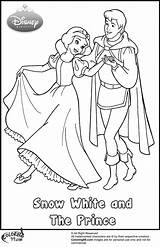 Prince Coloring Snow Pages Disney Princess Handsome Clipart Colors Team Request Popular sketch template