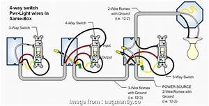 3  Switch With 2 Wire Romex Practical Four Switch Wiring