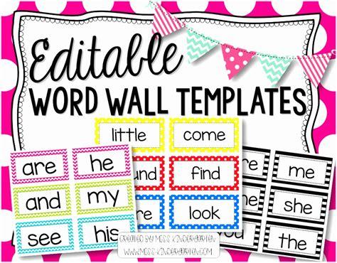 printable word wall template etyio templatesz