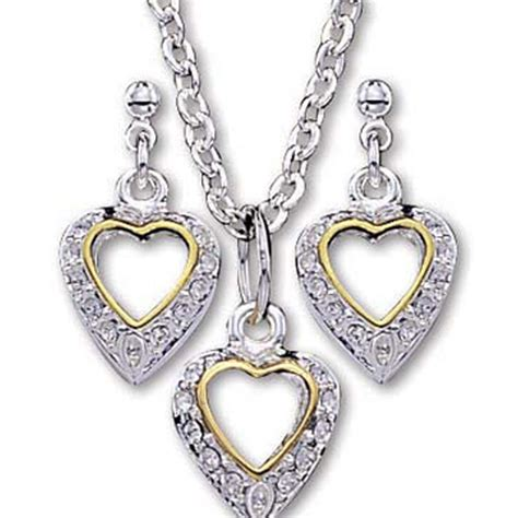 Montana Silversmiths Women's Heart Jewelry Set