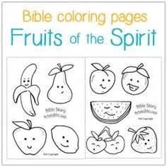 goodness fruit   spirit coloring page bible fruit   spirit pinterest sunday