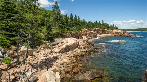 acadia national park  maine united states landscape