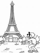 Eiffel Tower Coloring Paris Printable Printables France Drawing Mandala French Sheets Worksheets Monuments Cool2bkids Activities Towers sketch template