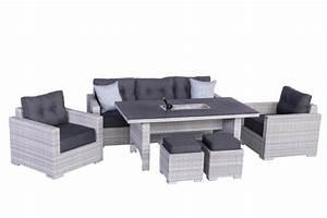 Polyrattan Gartenmöbel Set : sardino ice polyrattan lounge gartenm bel set inkl einsatz lounge m bel garten ~ Yasmunasinghe.com Haus und Dekorationen