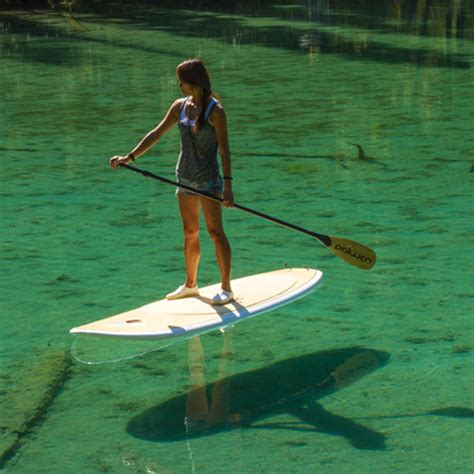 bamboo stand up paddle board for
