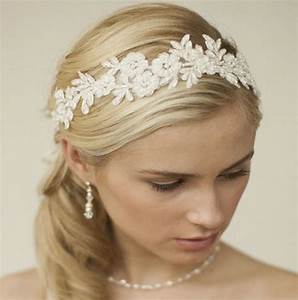Lace Wedding Hair Ribbon Malia Zaphira Bridal