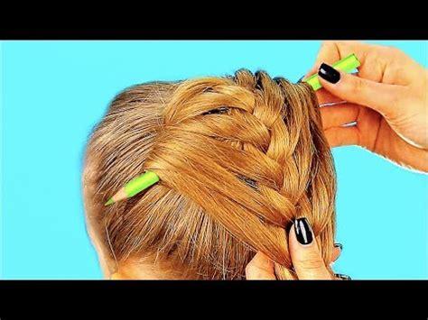 cute  minute hairstyles   girls youtube