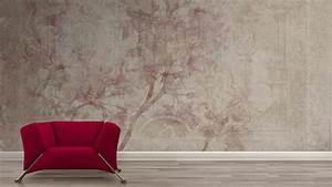 Tapete Blumen Modern : deko ideen vintage tapete mit retro flair nostalgische wandgestaltung mit charme ~ Eleganceandgraceweddings.com Haus und Dekorationen