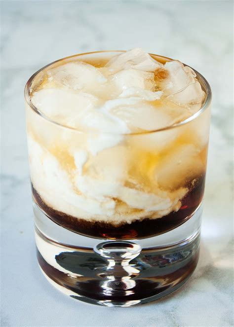 The white russian is one of the best vodka drinks. Coconut White Russian   Recipe in 2020   Coconut milk ...