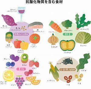 抗酸化作用のある食べ物 に対する画像結果