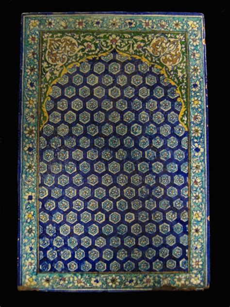 glazed islamic tile amd 280 for sale antiques