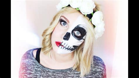 skelett schminken frau vs skull make up tutorial dagi bee